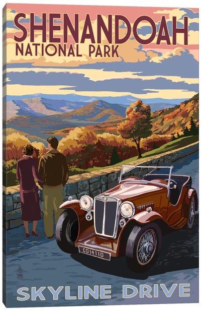 Shenandoah National Park (Skyline Drive) Canvas Art Print