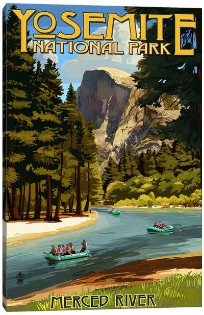 Yosemite National Park (Merced River) Canvas Art Print