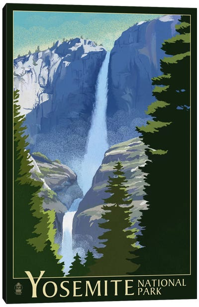 Yosemite National Park (Yosemite Falls I) Canvas Art Print