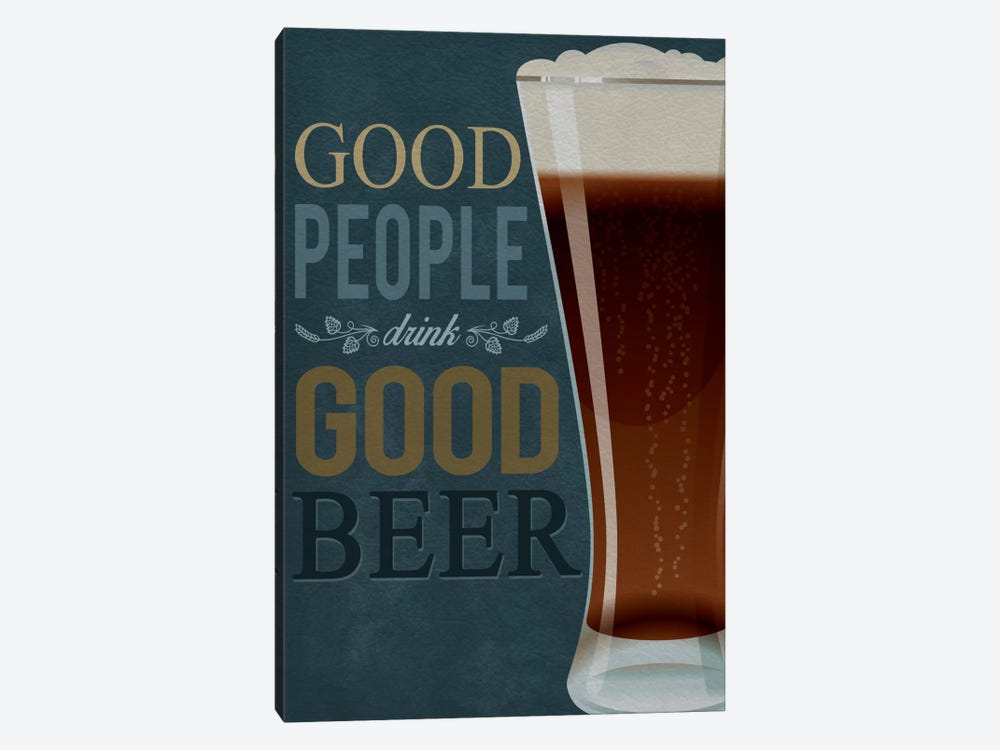 Good People by Lantern Press 1-piece Canvas Art Print