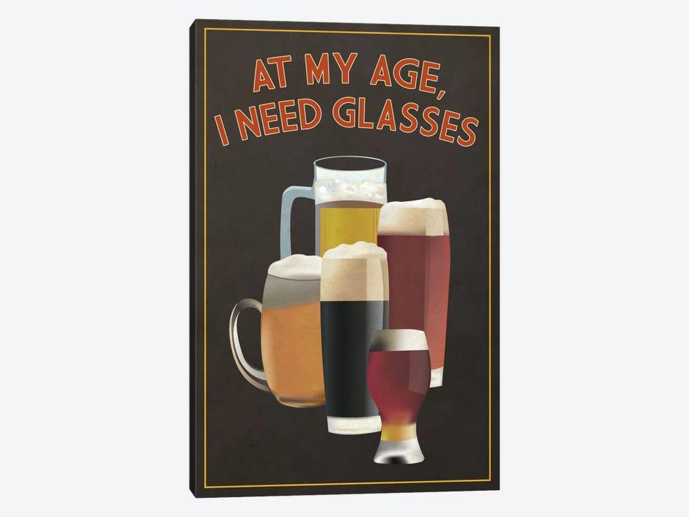 I Need Glasses by Lantern Press 1-piece Canvas Art