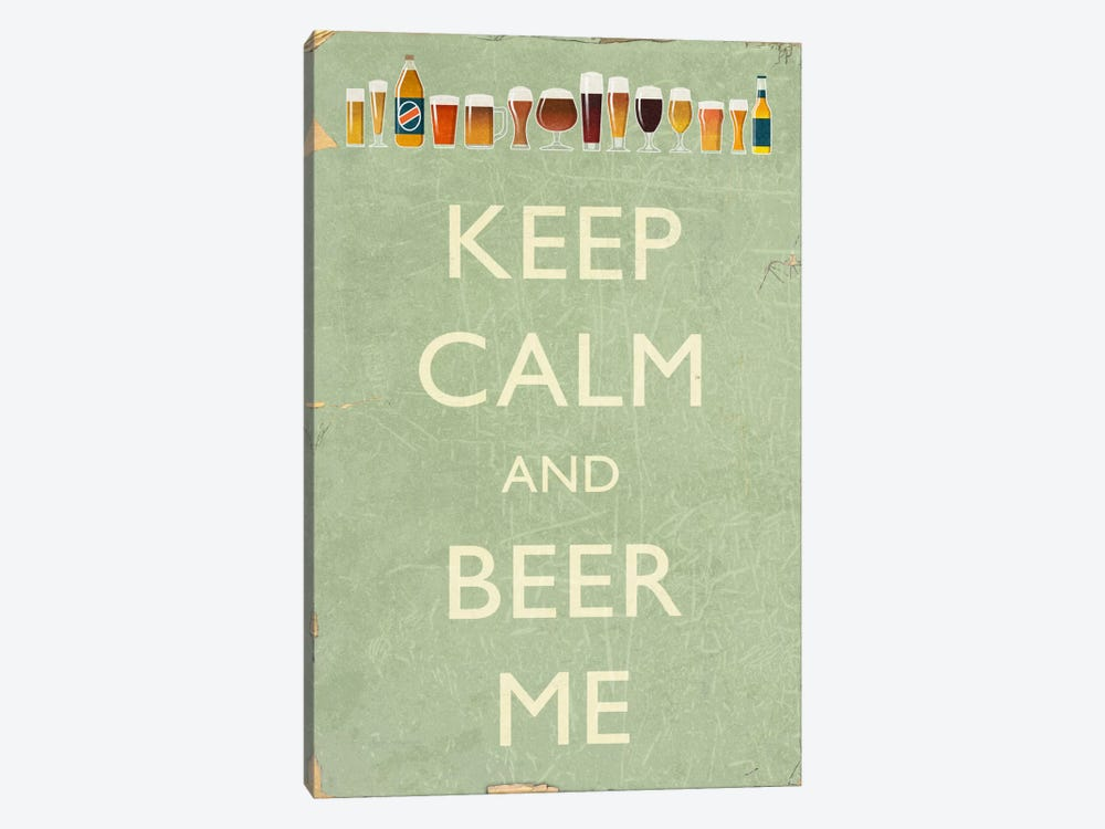 Keep Calm by Lantern Press 1-piece Canvas Art Print
