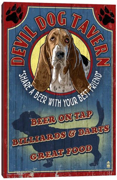 Devil Dog Tavern Canvas Art Print