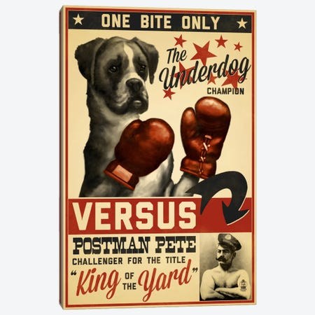 King Of The Yard Promotional Poster Canvas Print #LAN34} by Lantern Press Art Print