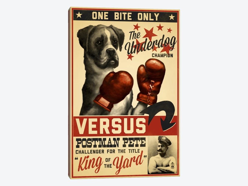 King Of The Yard Promotional Poster by Lantern Press 1-piece Canvas Artwork