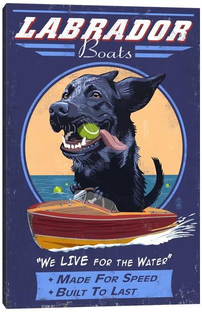 Labrador Boats Canvas Print #LAN35