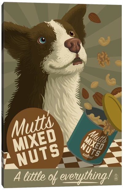 Mutt's Mixed Nuts Canvas Art Print