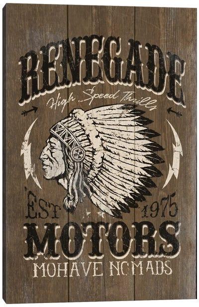 Renegade Motors Canvas Art Print