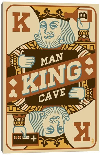 The King's Man Cave Canvas Print #LAN59