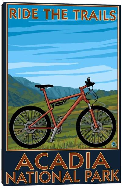 Acadia National Park (Ride The Trails) Canvas Art Print