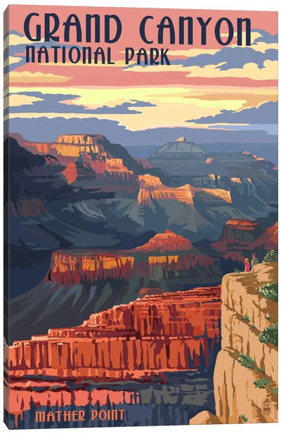 Grand Canyon National Park (Mather Point) Canvas Art Print