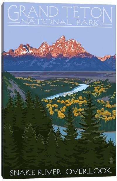 Grand Teton National Park (Snake River Overlook) Canvas Art Print