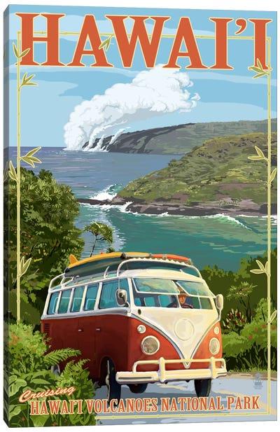 Hawai'i Volcanoes National Park (VW Type 2) Canvas Art Print