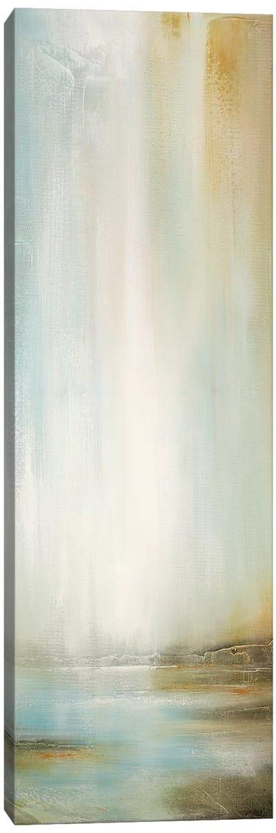 Golden Falls Canvas Art Print