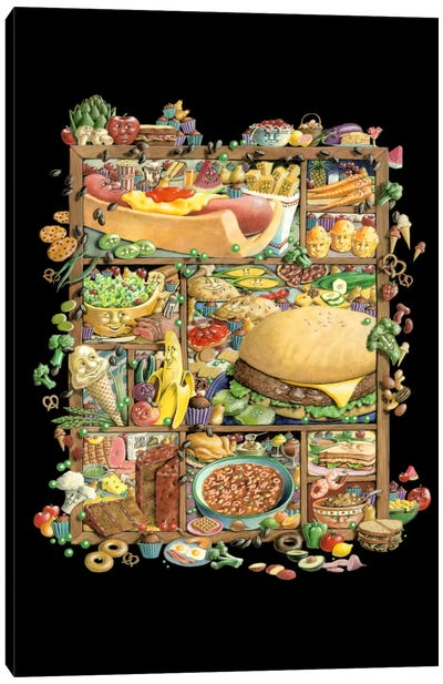 Food for Thougt Canvas Art Print