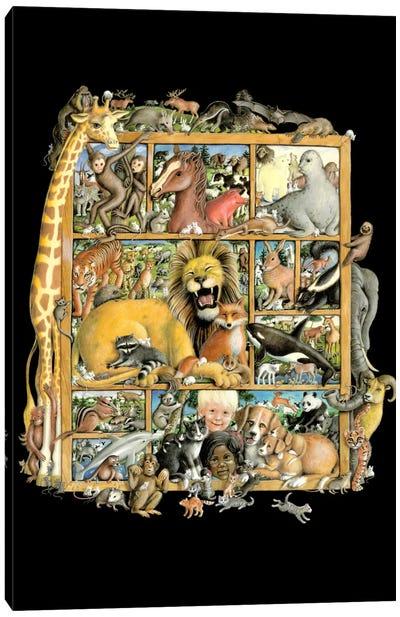 Mammal Menagerie Canvas Art Print