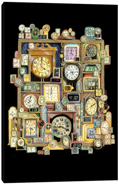 Time Will Tell Canvas Art Print