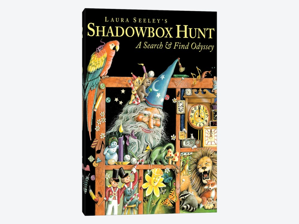 Shadowbox Hunt by Laura Seeley 1-piece Art Print