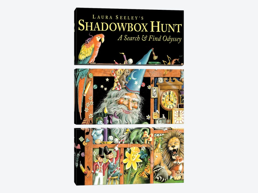 Shadowbox Hunt by Laura Seeley 3-piece Art Print