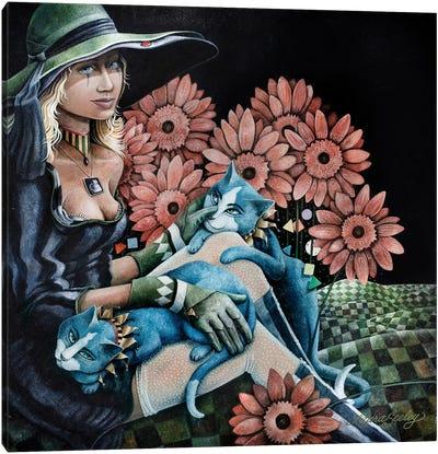 Hints Revealed Canvas Art Print