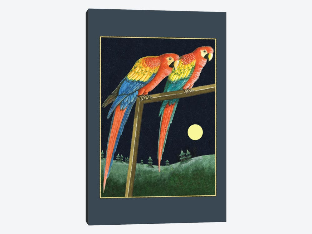 Double Talk by Laura Seeley 1-piece Canvas Wall Art