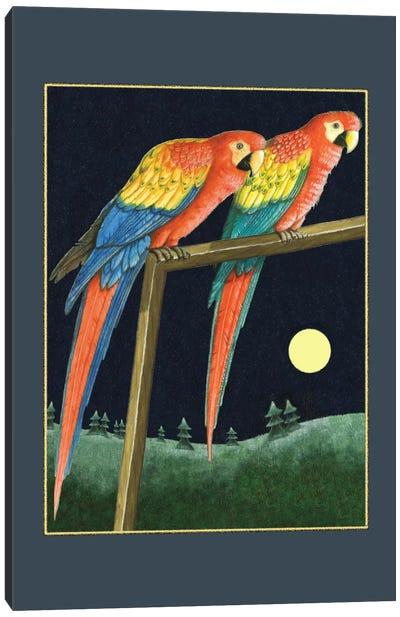 Double Talk Canvas Art Print