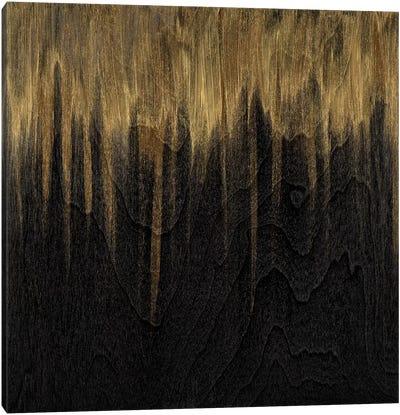 Gold Untitled Canvas Art Print