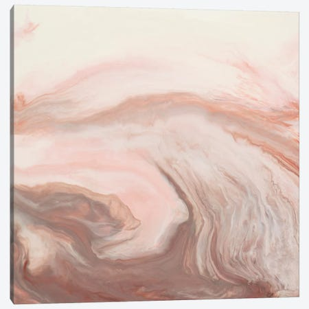Peach Untitled Canvas Print #LAV34} by Corrie LaVelle Art Print