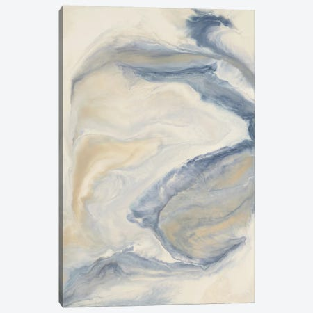 Untitled Neutral Blue Canvas Print #LAV44} by Corrie LaVelle Canvas Art