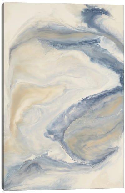 Untitled Neutral Blue Canvas Art Print