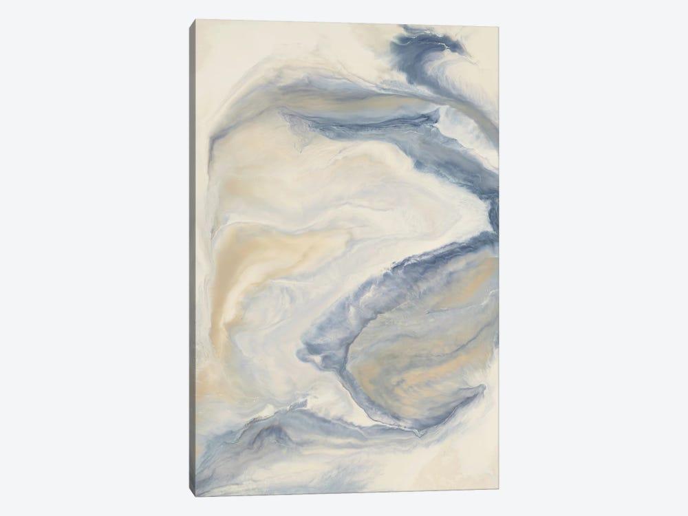 Untitled Neutral Blue by Corrie LaVelle 1-piece Canvas Art Print