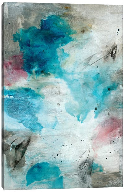 Eloquent Flow Canvas Art Print