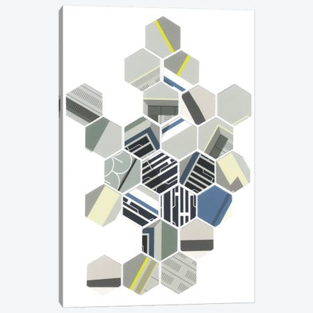 Hybrid I Canvas Print #LBA25} by Leigh Bagley Art Print