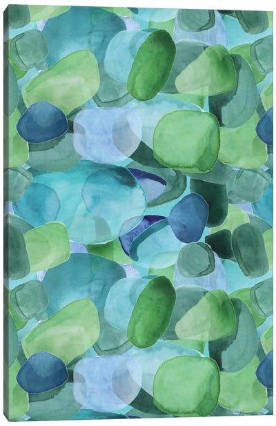 Seaglass Shore I Canvas Art Print