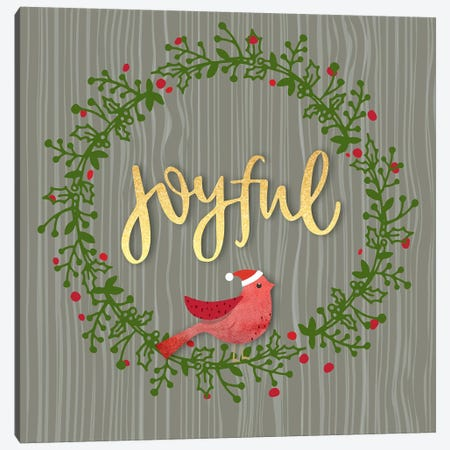 Joyful Canvas Print #LBI17} by Linda Birtel Canvas Art