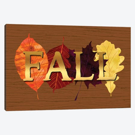 Fall Canvas Print #LBI3} by Linda Birtel Canvas Artwork