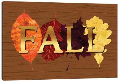 Fall Canvas Art Print