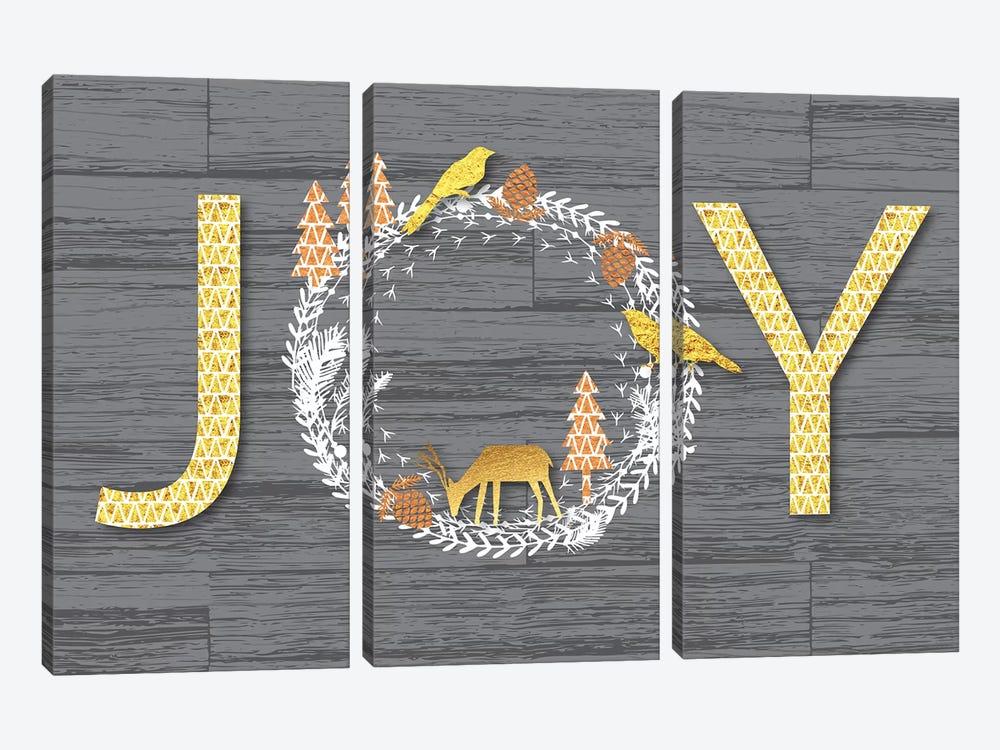 Joy by Linda Birtel 3-piece Canvas Print