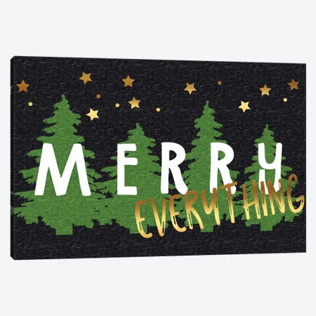 Merry Everything Canvas Print #LBI6} by Linda Birtel Canvas Art Print