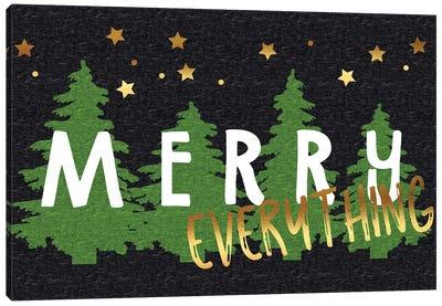Merry Everything Canvas Art Print