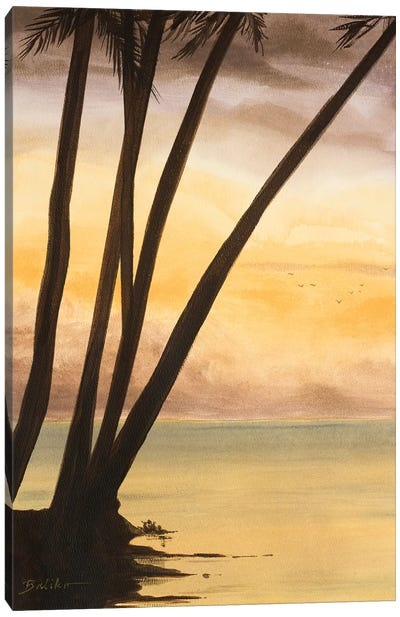 Approaching Horizon II Canvas Art Print
