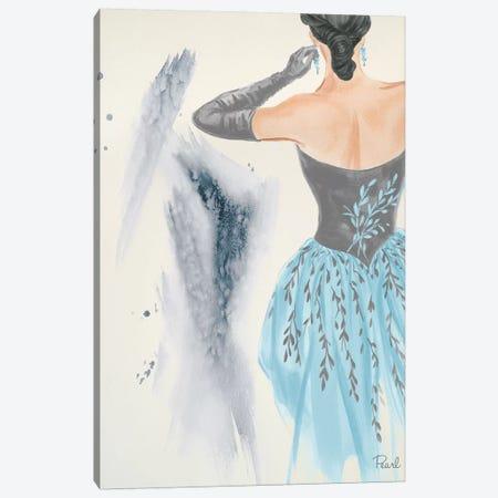 Evening In Paris I Canvas Print #LBK3} by Linda Baliko Canvas Wall Art