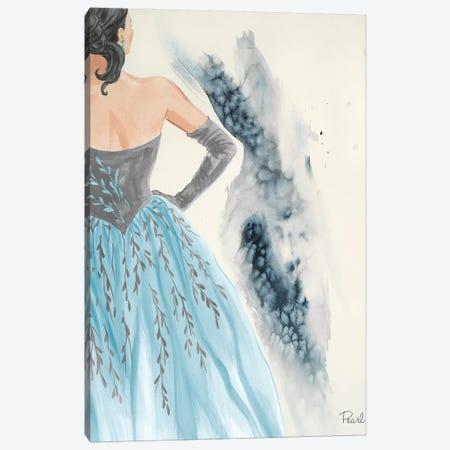 Evening In Paris II Canvas Print #LBK4} by Linda Baliko Canvas Print