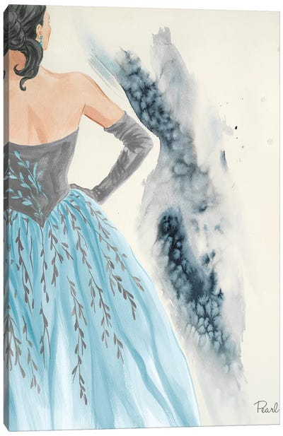Evening In Paris II Canvas Art Print