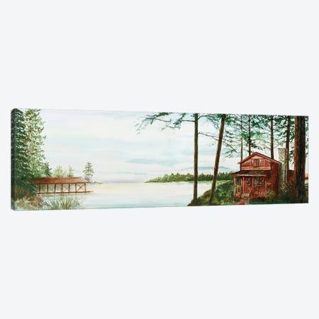 Into The Woods Canvas Print #LBK5} by Linda Baliko Canvas Print