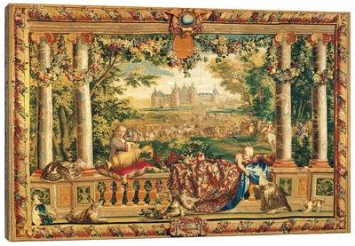 Le Chateau De Chambord Canvas Art Print