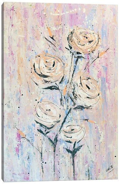 Floral Fancy Canvas Art Print