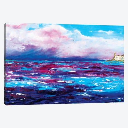 Georgian Sky Canvas Print #LBU12} by Lori Burke Canvas Art Print
