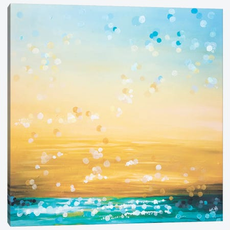 Glimmer Canvas Print #LBU13} by Lori Burke Canvas Print