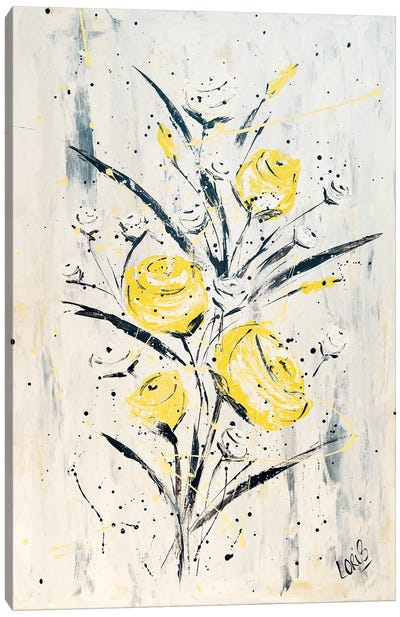 Mellow Yellow Canvas Art Print